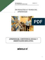 IV EVALUACIÓN PEDAGÓGICA Y TEORÍA DEL APRENDIZAJE (2)