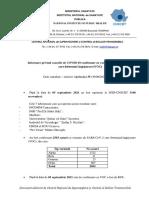 S 35_Informare Cazuri Cu Variante Care Determina Îngrijorare (VOC)