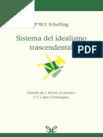 Sistema Del Idealismo Trascendental (1800)