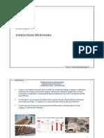 Géotechnique - Chapitre 5 - Fondations Profondes