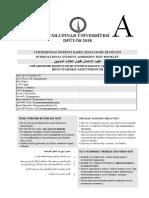 DPUYÖS - GlobalAcademia .Com