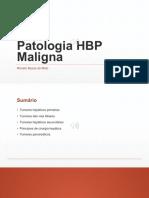 Patologia HBP Maligna - Aula 5 Ano