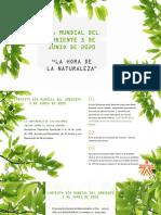 Presentacion Dia Mundial del Ambiente 2020