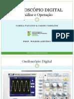 Osciloscopio Digital de 2 Canais - Instruções