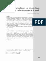 Ser Inmigrante en Ciudad Juárez Maquila_Claudia Villarrea