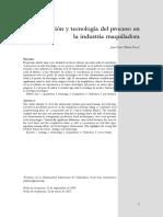 Capacitación y Tecnología Del Proceso en La Industria Maquiladora - Juan Óscar Ollivier Fierro