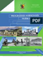 NOUVEAU PROGRAMME HARMONISE DES             ENS, HISTOIRE