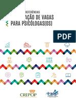 Cartilha de Referências. Elaboração de Vagas para Psicólogas(os)