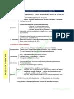Plantilla-esquema Organización político-administrativa actual de España