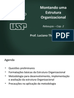 Montando uma estrutura organizacional - Cap2 Rebouças