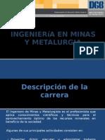 Ingeniería en Minas y Metalurgia