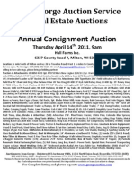 Consignment Auction 4-14-11