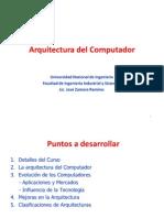 Arq y Org del Computador 2011mar28