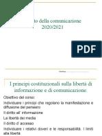 2021 Diritto Della Comunicazione Unifi Art21