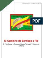 Guia Camino de Santiago El Pais Aguilar