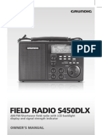 Grundig S450 Manual 5 Languages