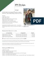 """Dragon Head - Bufanda DROPS en pt musgo con cuadros en patrón dominó en """"Fabel"""". DROPS Design_ Patrón No. FA-094 - Free pattern by DROPS Design"""