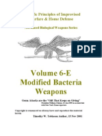 Volume 6-E Modified Bacteria Weapons
