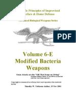 Volume 6-E Modified Bacteria Weapons