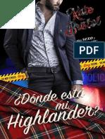 Donde Esta Mi Highlander- Kate Bristol-holaebook