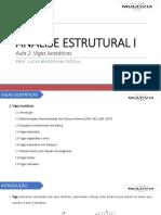 Analise Estrutural - Aula 02