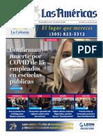 Portada Digital Diario Las Américas 7 septiembre 2021
