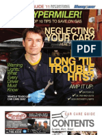 Moneysaver Car Care Guide - 2011