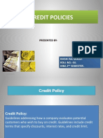 Credit Policy ppt