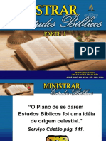 Ministrar Estudos Bíblicos 1