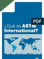 Que son las ASTM