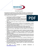 CVR and USPAP Compliance April 2011
