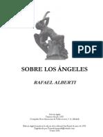 Alberti, Rafael - Sobre los ángeles - Completo