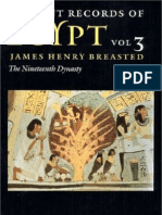 BREASTED, James H. - Ancient Records of Egypt - Vol. 3 - The Nineteenth Dynasty
