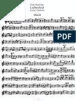 Kreisler - Liebesleid violin solo