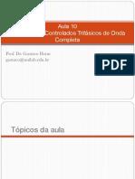 Aula 05_09_2020 - Retificadores Trifásicos Controlados de Onda Completa