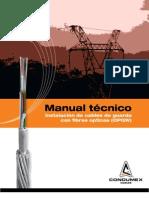 Manual instalación OPGW