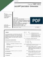 NBR 12912 - Rosca NPT para tubos - Dimensoes