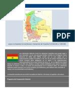 Apoyo a la sociedad civil en las regiones periféricas al eje troncal de Bolivia