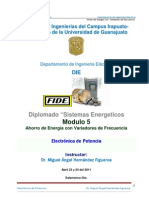 AEE mediante la aplicación de los variadores de frecuencia