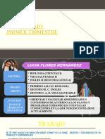 Presentacion Del Trabajo y Evaluacion