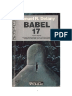 Delany , Samuel R. - BABEL 17