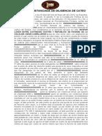 Acta Circunstanciada Union de Ladrillero 30-05-19