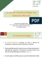 Nanotecnologia Textil