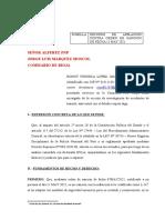DESCARGO DE SANCIÓN FONSECA