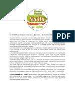 Svolta Civica Moretti Programma Elettorale 2021
