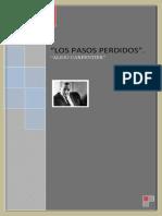 Trabajoliterario Lospasospersidos Alejocarpentier 110527115156 Phpapp01