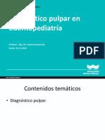 9 Teoria de Diagnostico Pulpar 2020-II