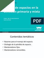 15_Teoria_de_manejo_de_espacio_en_denticion_primaria_y_mixta_2020-II