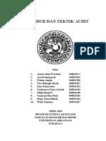 Prosedur n teknik audit
