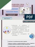 Semana 18.- Proyecto Innovador Planificacion .- Bachillerato Tecnico